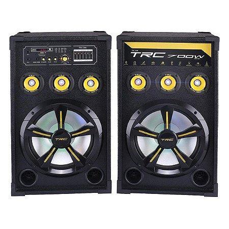 Caixa de som amplificada Bluetooth TRC TRC398