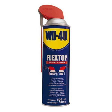 Lubrificante multiuso WD-40 Flextop 500 ml