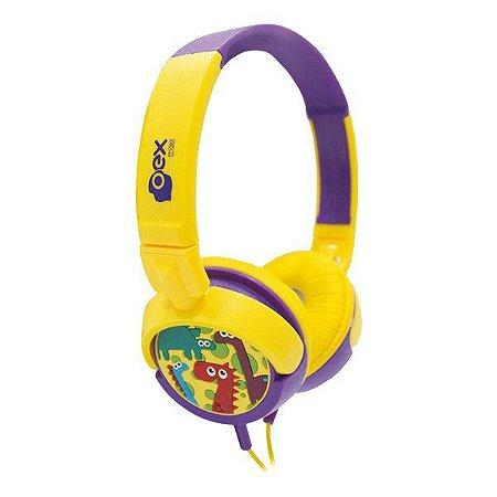 Fones de ouvido infantil oex Dino HP300 (48.5813)