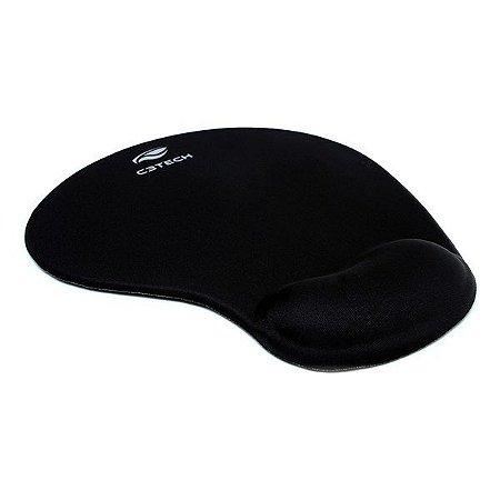 Mouse pad com apoio em gel C3Tech MP-200