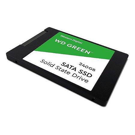 SSD 240 Gb SATA Western Digital Green Series G2