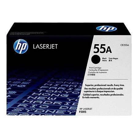 Toner HP 55A preto (CE255AB)