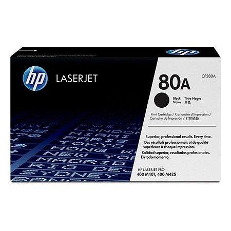 Toner HP 80A preto (CF280AB)