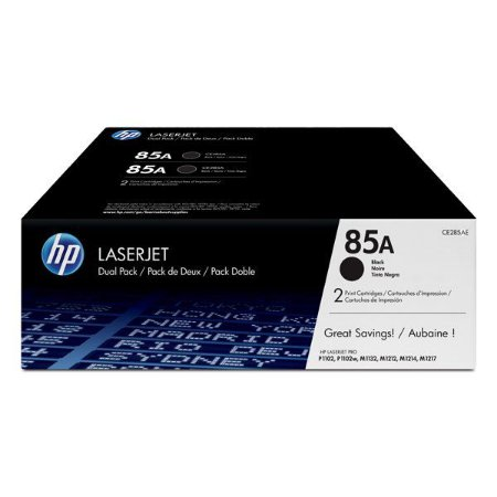 Toner HP dual pack CE285AE preto (2x CE285AB)