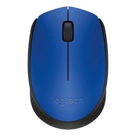 Mouse wireless Logitech M170 azul (910-004800)