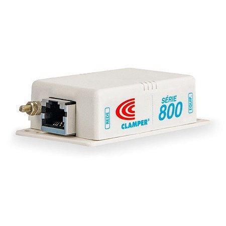 Protetor de surto Ethernet Categoria 5E PoE Clamper S800