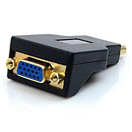 Adaptador Displayport M x VGA F Plus Cable ADP-101BK