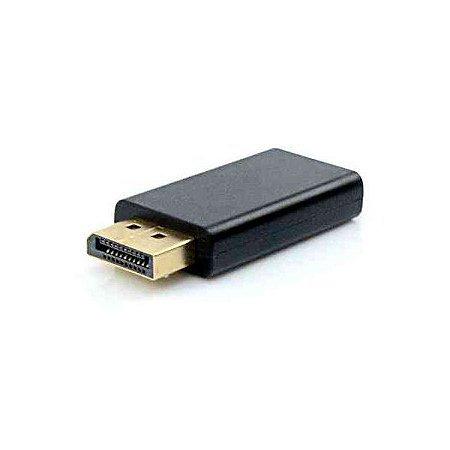 Adaptador Displayport M x HDMI F Plus Cable ADP-103BK