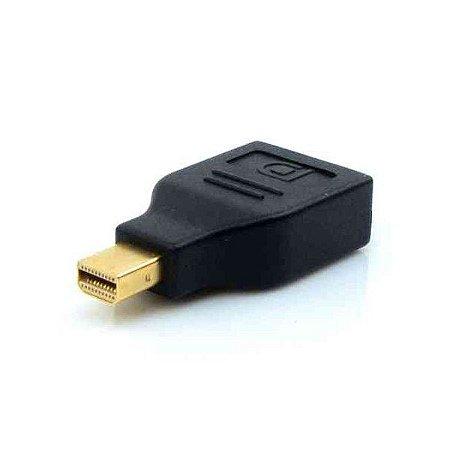Adaptador MINI Displayport M x Displayport F Plus Cable ADP-201BK