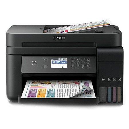 Impressora multifuncional wireless tanque de tinta Epson EcoTank L6171