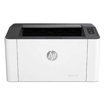 Impressora wireless laser monocromática HP LaserJet 107W (4ZB78A)