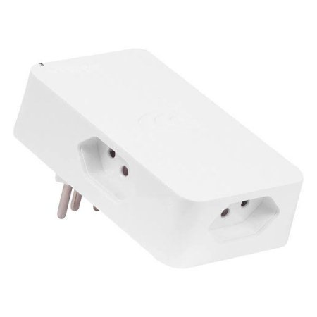 Protetor de surto 3 pinos bivolt 3 tomadas Clamper iClamper Energia 3 branco