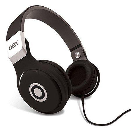 Headset oex Groove HP102 preto (48.0101)