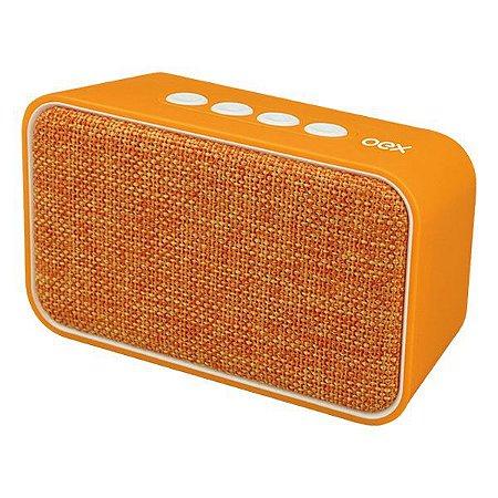 Caixa de som Bluetooth oex Weave SK407 laranja (48.7107)