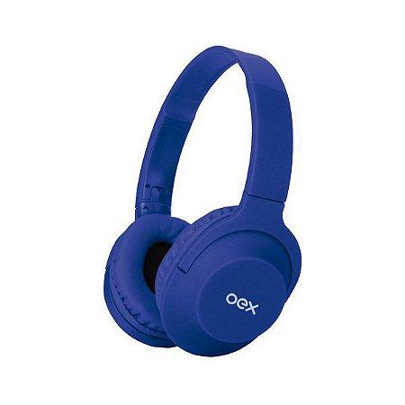 Headset Bluetooth oex Flow HS307 azul (48.7262)