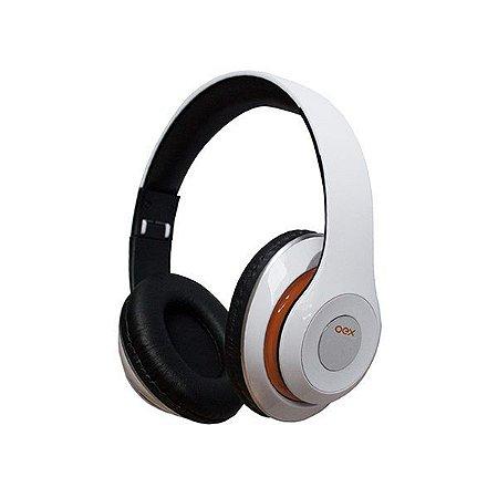 Headset Bluetooth oex Balance HS301 branco (49.5002)