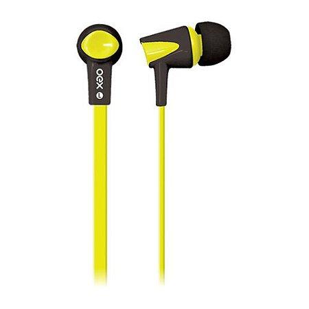 Headset oex Colorhit FN203 amarelo/preto (51.4201)