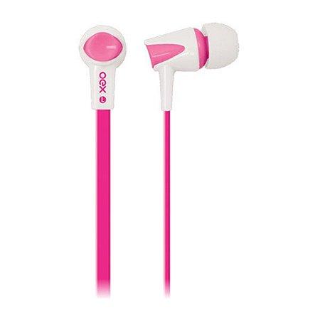 Headset oex Colorhit FN203 rosa/branco (51.4202)