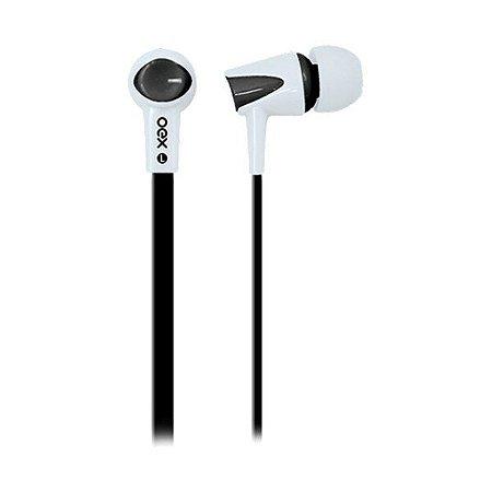 Headset oex Colorhit FN203 preto/branco (51.4203)