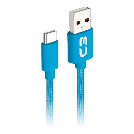 Cabo USB C 2.0 AM 1 metro C3Plus CB-C11BLX