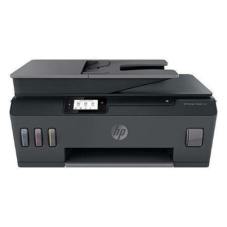 Impressora multifuncional wireless tanque de tinta HP Smart Tank 532 (5HX16A)