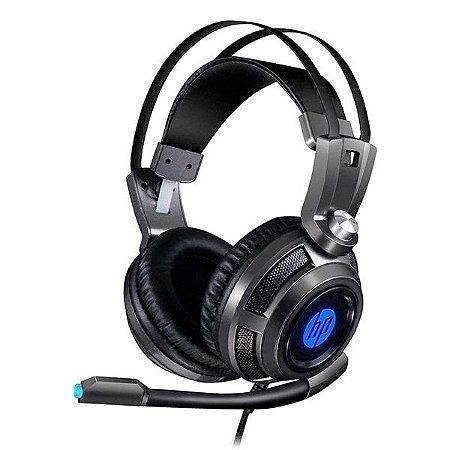 Headset gamer HP H200 chumbo (8AA03AA)
