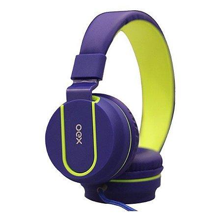 Headset oex Fluor HS107 azul/verde (48.5958)