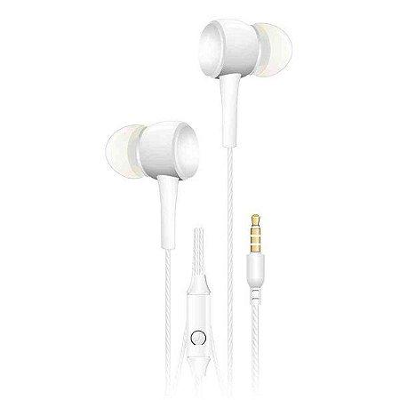 Headset intra auricular C3Plus EP-02WHX