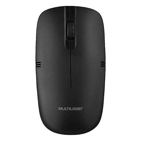 Mouse wireless Multilaser MO285 preto