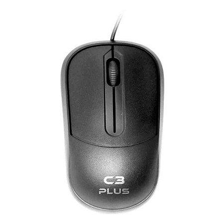 Mouse USB C3Plus MS-35BK