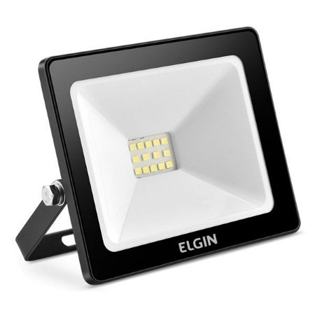 Refletor power led 10 W 6500 K bivolt Elgin 48RPLED10G00