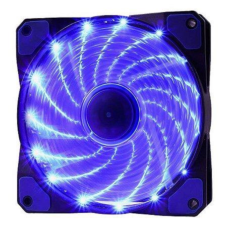 Cooler para gabinete oex F20 azul (48.7224)
