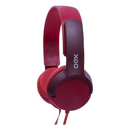 Headset oex Teen HP303 vermelho (48.7271)