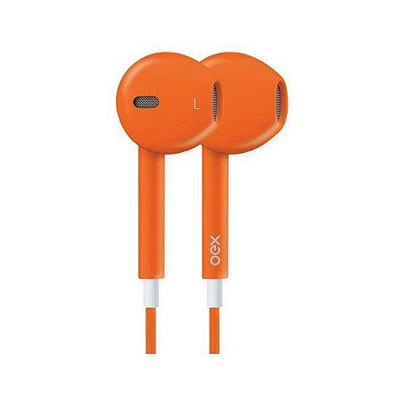 Headset oex Colormood FN204 laranja (51.4207)