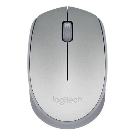 Mouse wireless Logitech M170 prata (910-005334)