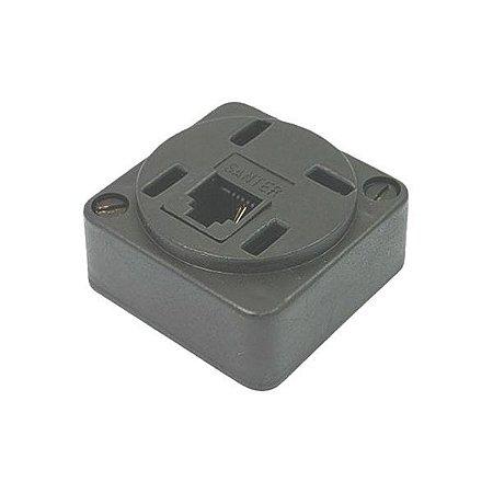 Tomada padrão para telefone com modular americano Connect Pro (095-9429)