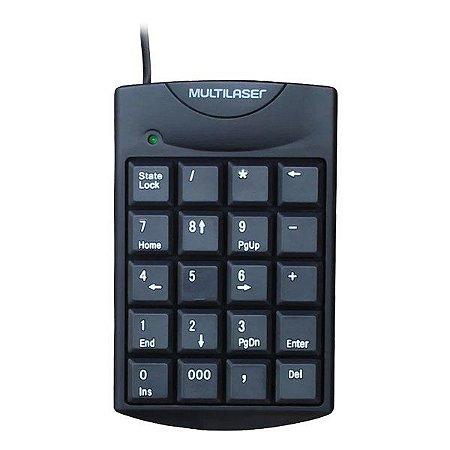 Teclado numérico USB Multilaser TC229