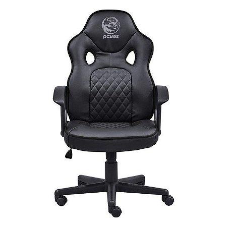 Cadeira gamer PCYes Mad Racer STI Master preta (MADSTIMSPT)