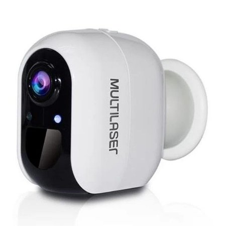 Câmera de segurança inteligente wireless Full HD Multilaser Liv SE227