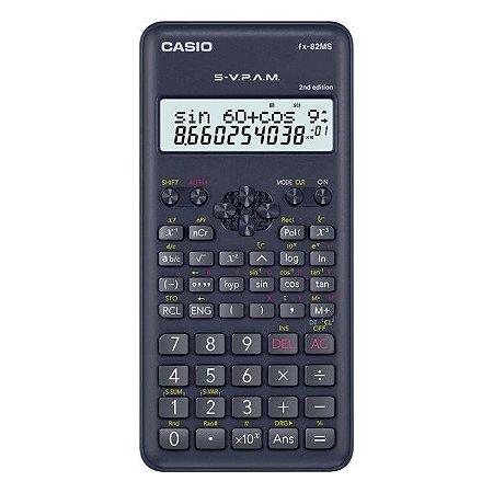 Calculadora científica 240 funções Casio FX-82MS-2 (70800)