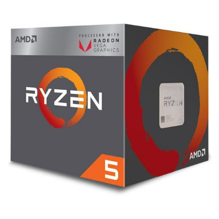 Processador AMD Ryzen 5 2400G (YD2400C5FBBOX)