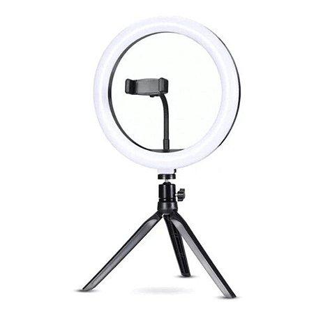 "Iluminador Ring Light 10"" Exbom ILUM-R10W12"