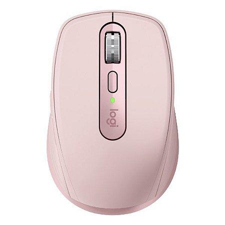 Mouse wireless/Bluetooth Logitech MX Anywhere 3 rosa (910-005994)