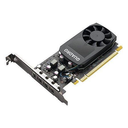 Placa de vídeo PCI-E PNY nVIDIA Quadro P1000 4 Gb GDDR5 128 Bits (VCQP1000V2-PB)