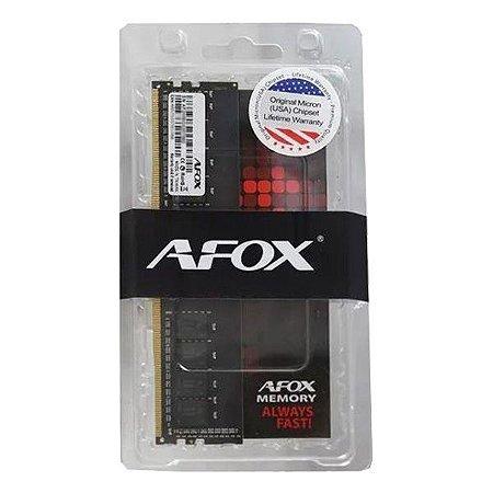 Memória 8 GB DDR4 AFOX 2400 MHz