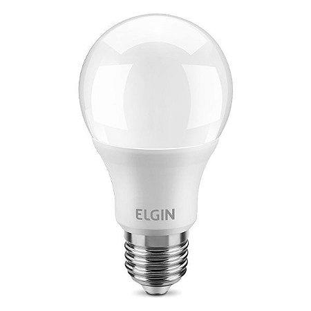 Lâmpada LED A60 12W Bivolt 6500K Elgin (48BLED2F12YU)