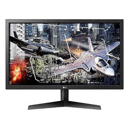 "Monitor gamer LG 24GL600F-B 24.0"""