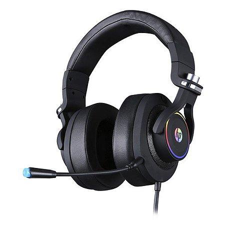 Headset gamer Surround 7.1 HP H500 (9AJ65AA)