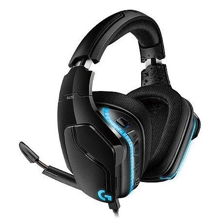 Headset gamer 7.1 canais Logitech Surround G635 (981-000748)