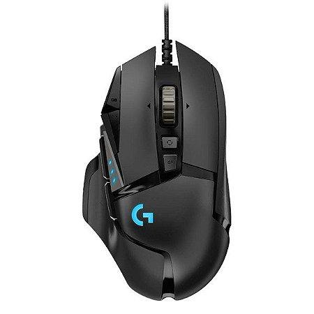 Mouse gamer USB Logitech Hero G502 (910-005550)